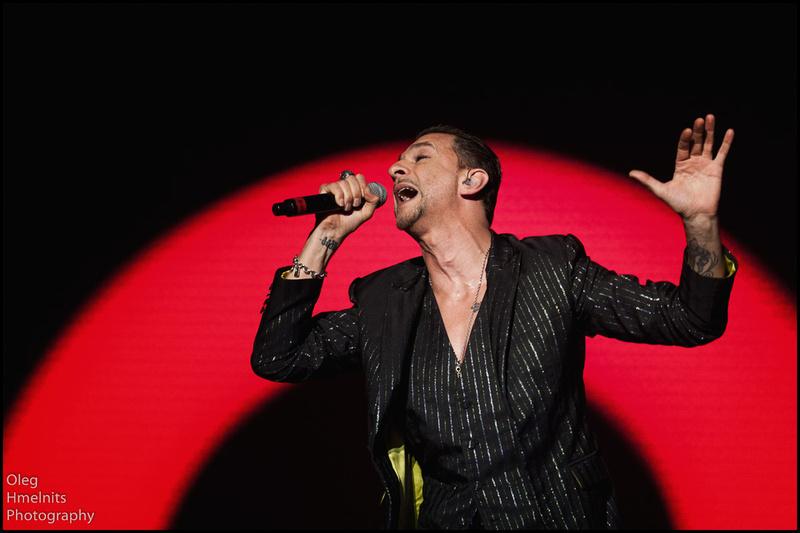 """Dave Gahan of """"Depeche Mode"""""""